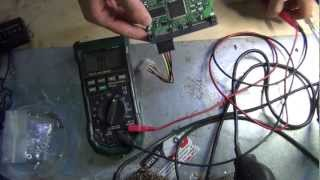 Hard drive repair power short component training Lacie Seagate