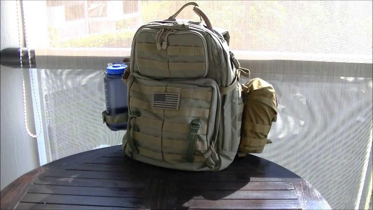 e79736fed55c 5 11 RUSH 24 Backpack  Initial Setup - YouTube