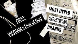 [Haul] Các hãng streetwear MUA hay BỎ QUA: Fear of God, Wings of Liberty, Underated, John Elliott