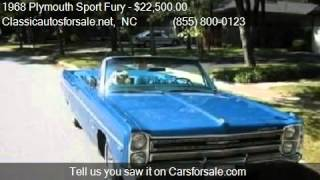 1968 Plymouth Sport Fury  - for sale in , NC 27603 #VNclassics
