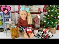 Download Jojo Siwa Doll Opens Christmas Presents - American Girl Doll Morning Routine