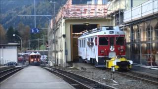 RhB Poschiavo Schienentraktor
