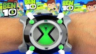 Ben 10 Omnitrix 2017 Watch Toy Alien Sounds New Cartoon Review