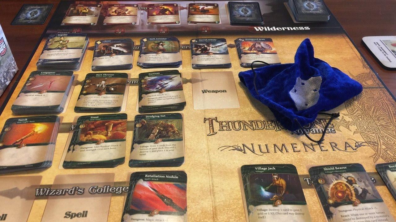 thunderstone advance full solo gameplay part 1 youtube