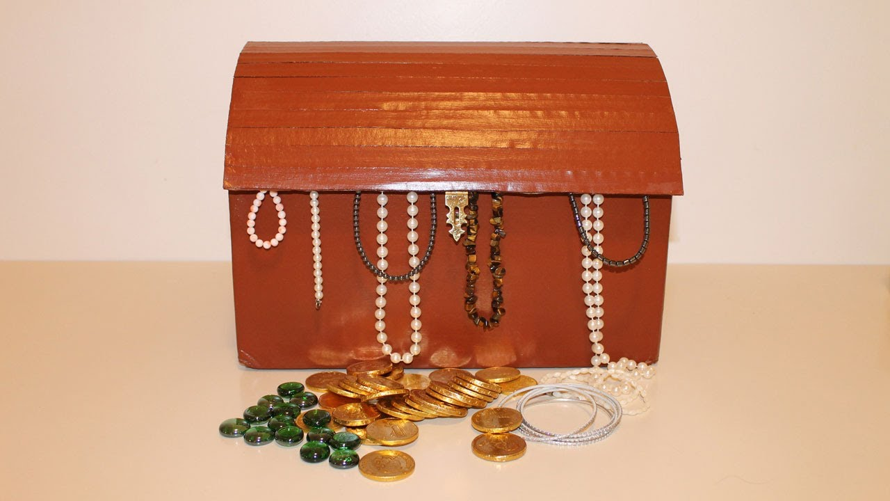 How To Make A Treasure Chest Youtube