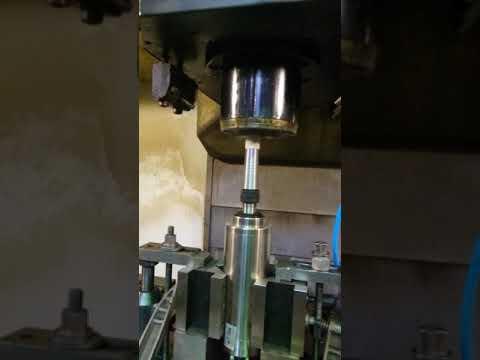 Шліфовка внутрішнього конуса шпинделя