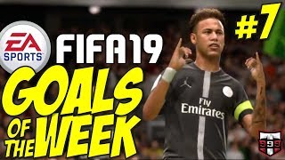 FIFA 19 - Top 10 Goals of the Week #7 (Fifa FUT Squad Battles فيفا 19)