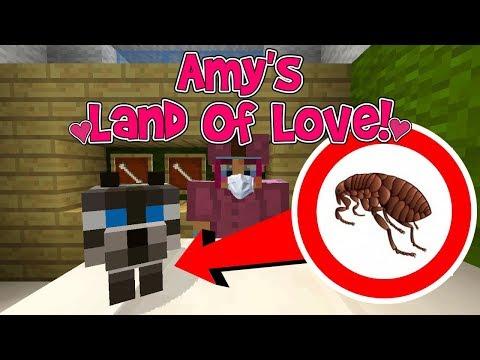 Amy's Land Of Love! Ep.176 ODDBALL HAS FLEAS! | Amy Lee33