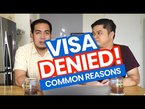 TOP 7 Reasons Why VISA APPLICATIONS Are DENIED
