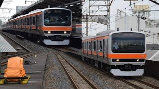 【JRマークが消された…】武蔵野線E231系900番台MU1編成 元B901編成 OM出場兼方転回送 西浦和、南浦和