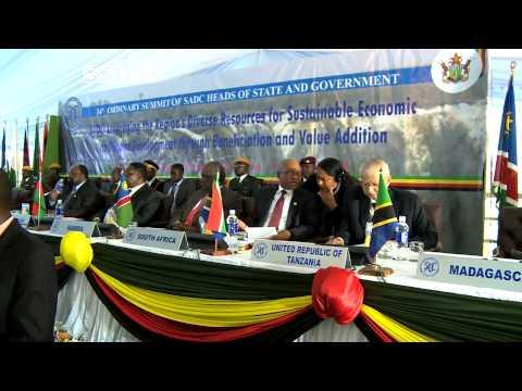 SADC Summit Wraps