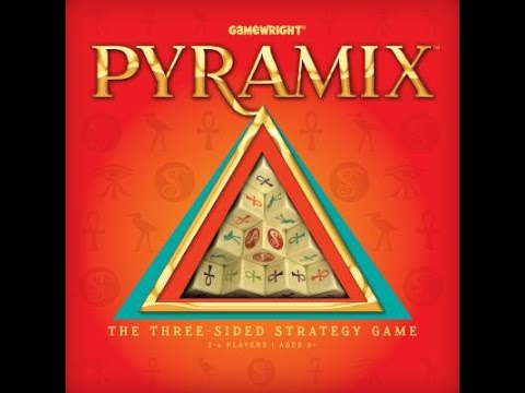 Pyramix By GameWright Games Review By David Lowry
