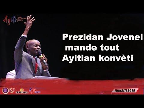 Prezidan Jovenel mande tout moun Ayiti konvèti??? - Gadé
