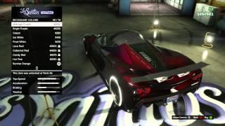 GTA V Buying And Customizing The Turismo R! #1