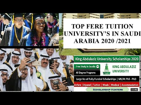 (2020)_Top 10 Best Universities In Saudi Arabia_Fully Funded Scholarships To International Students