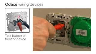 Schneider Electric монтаж выключателей и розеток Odace