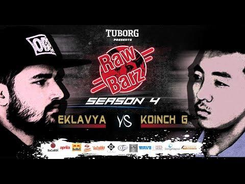 KOINCH G VS EKLAVYA(Official Battle) | Tuborg Presents RawBarz Rap Battle S4E4 2018 Video