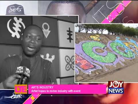 Art Industry - Let's Talk Entertainment on JoyNews (21-9-17)