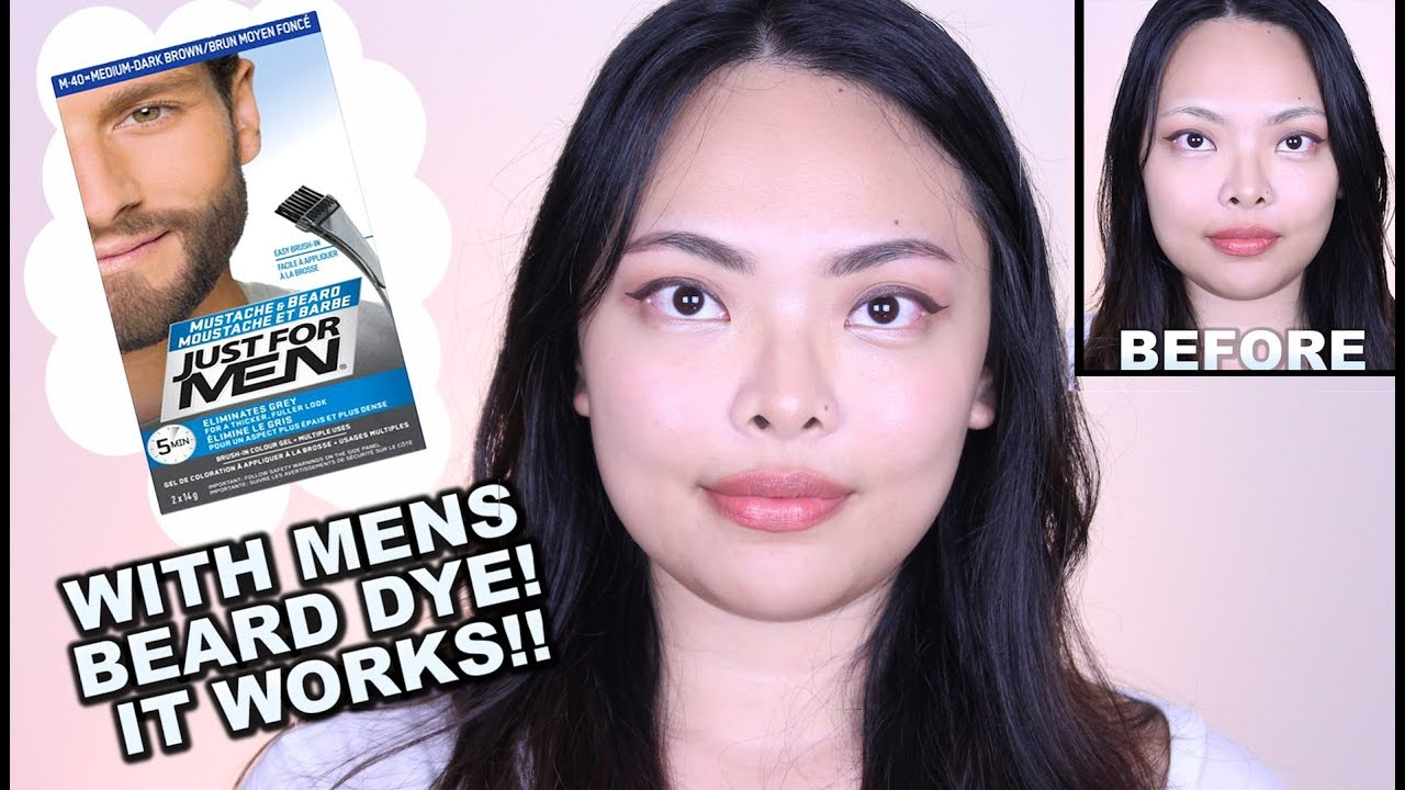 How To Tint Your Eyebrows At Home Diy Eyebrow Hack