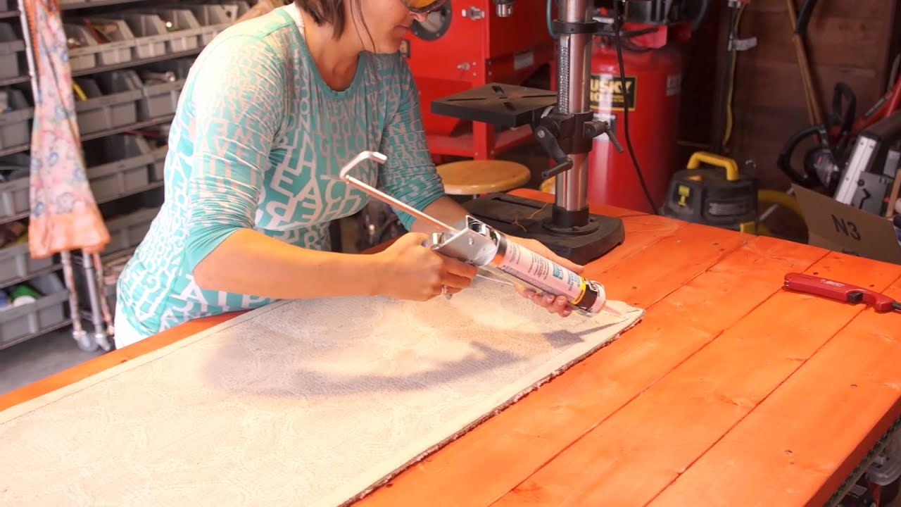 How to Make Any Rug Slip-Proof With Caulk : Home Decor Crafts