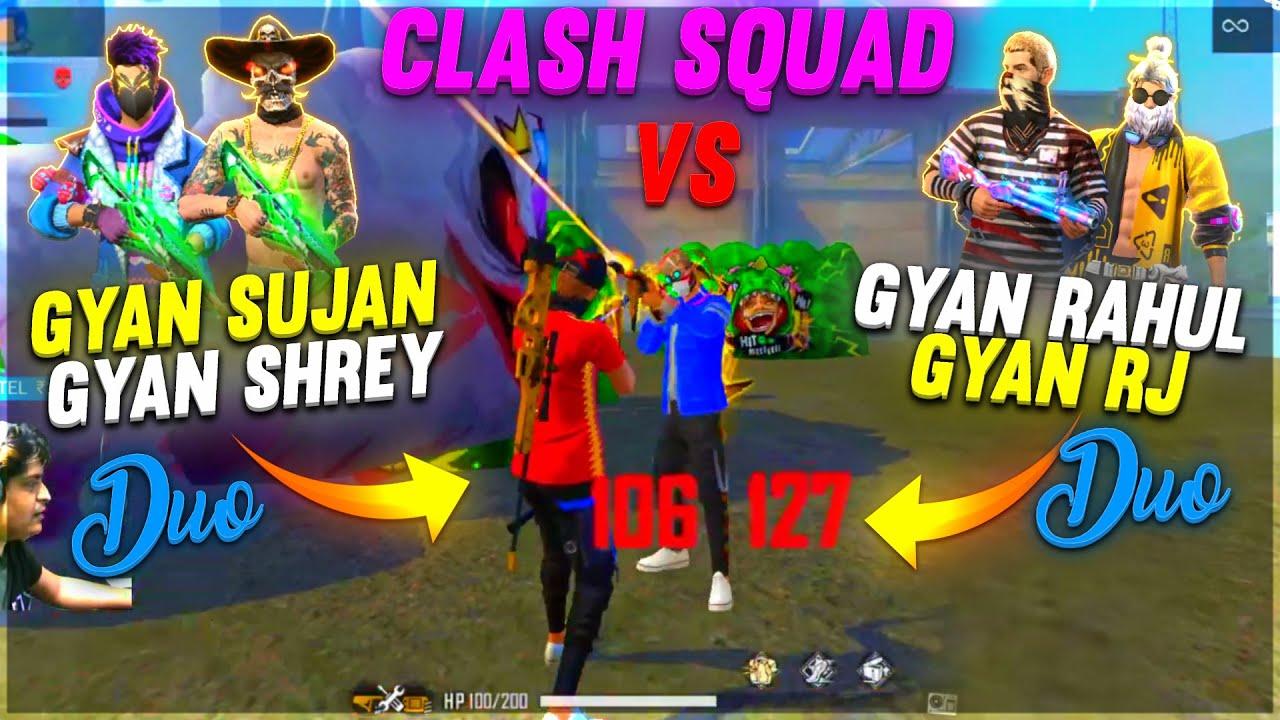FREE FIRE || CLASH SQUAD DUO VS DUO ||  CHALLENGE GONE CRAZY || BEST VS BEST
