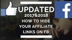 2017&2018 HOW TO Post your affiliate link on facebook UPDATED