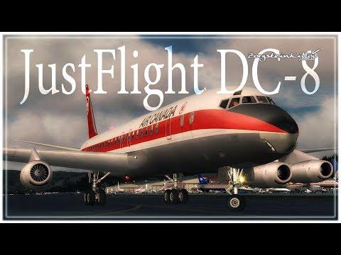 JustFlight DC-8