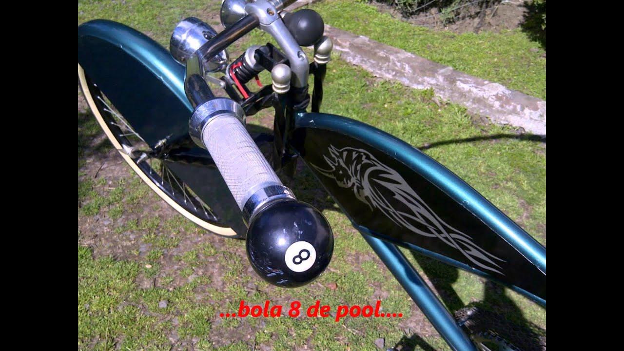 mis bicicletas tuneadas al piso choppera   tuning