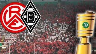 GÄNSEHAUT IN ESSEN (VLOG) | Rot-Weiss Essen 1 : 2 Borussia Mönchengladbach (DFB Pokal 11.08.17)