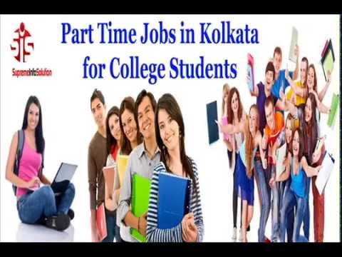 Part Time Jobs in Kolkata for College Students - YouTube