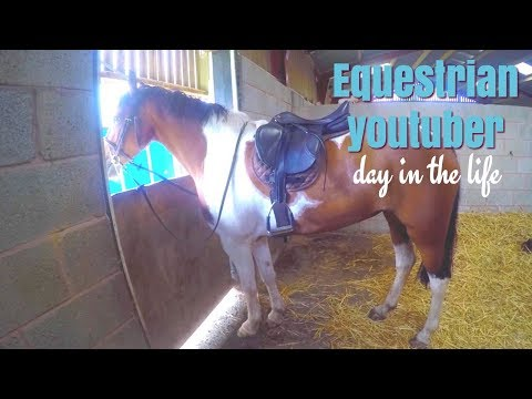 ♡ Day in the life of an Equestrian Youtuber ♡