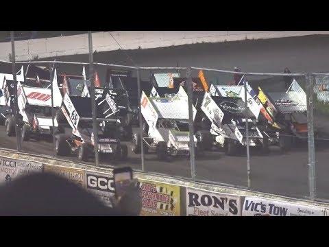 KWS/NARC 410 Sprints MAIN 6-1-19 Petaluma Speedway