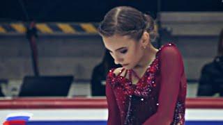 Дарья Усачёва Daria Usacheva Произвольная программа Чемпионат мира среди юниоров 2020