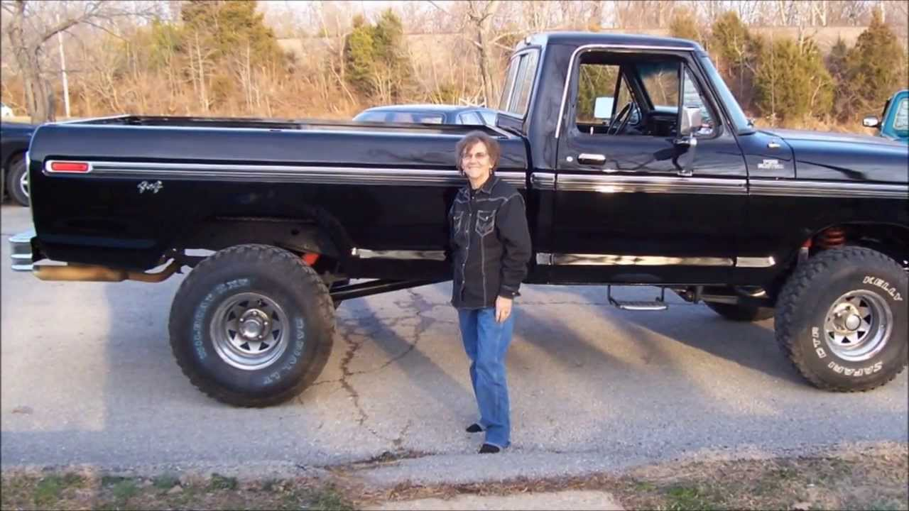 1978 Ford F250 >> (2008-2011) MY 1978 F150 4X4 is FINISHED!!! - YouTube