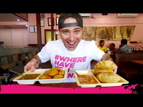 Assamese INDIAN Breakfast FOOD TOUR - Kachori, Puri, Samosa & Coffee | Guwahati, India