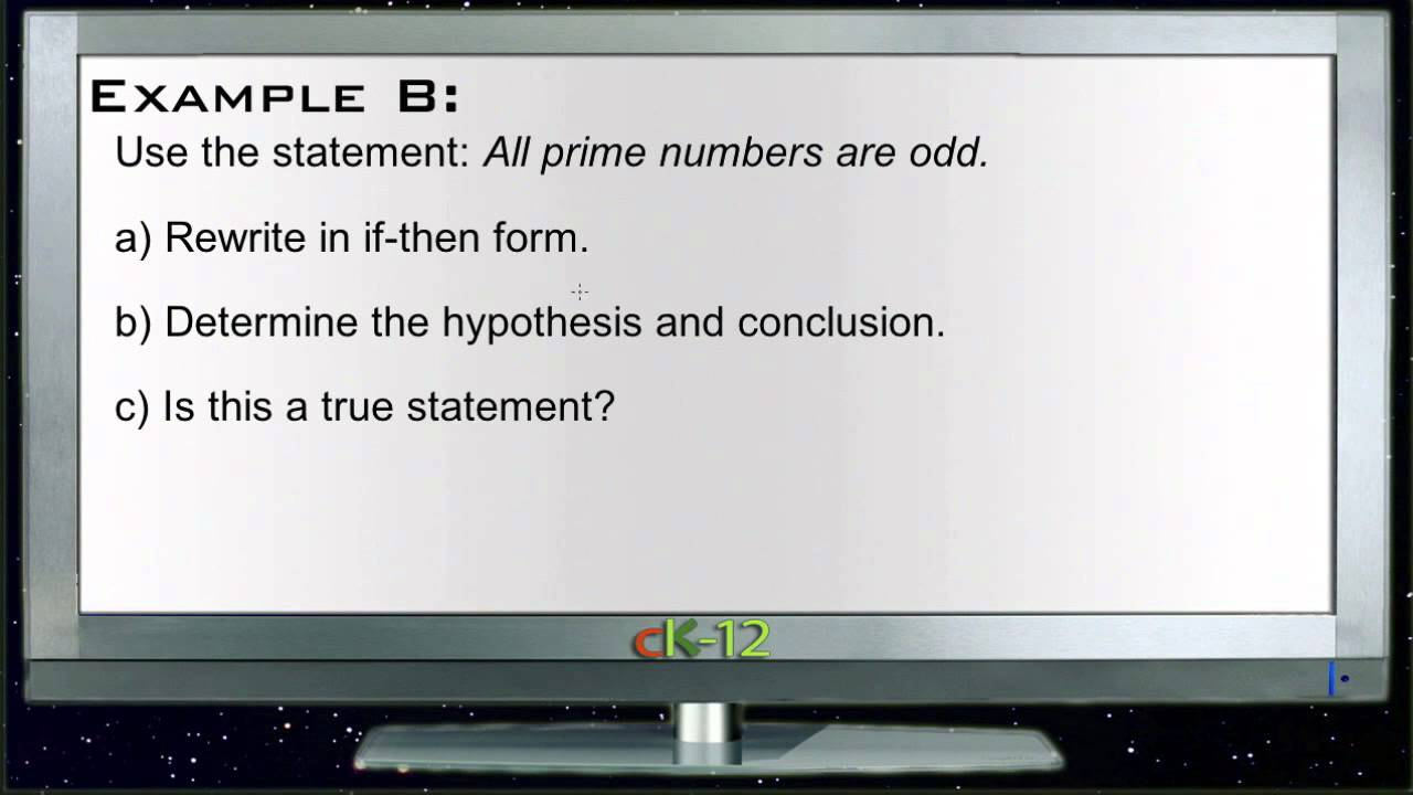 If - Then Statements: Examples (Basic Geometry Concepts) - YouTube