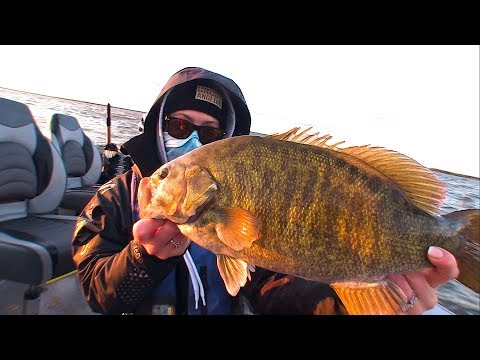 Quickly Finding Deep Smallmouth Bass