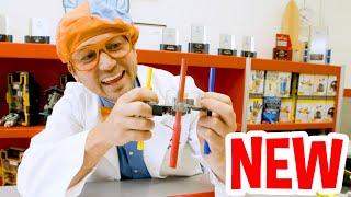 Blippi STEM Learning at The Rolling Robots For Kids | BRAND NEW BLIPPI | Educational Videos For Kids