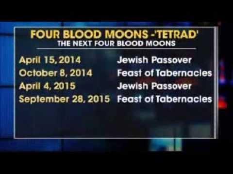 April 15 2014 first Bad Blood Moon - Tetrad Blood Moons ...
