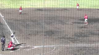 東芝・谷岡竜平 対 中西良太(八戸大学)の第4打席は三塁ファールフラ...