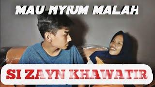 Zayn and marta - zayn mau nyium marta