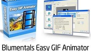 создание анимированного баннера в программе Easy GIF Animator