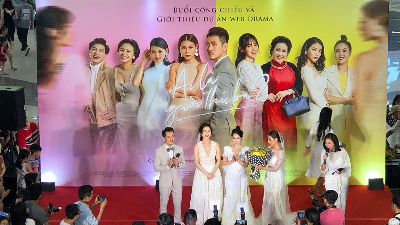 Nam Thư ra mắt công chiếu phim Ai là Người Thứ 3 - Web Drama