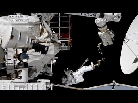 Space Station Spacewalkers Work on a Cosmic Particle Detector on This Week @NASA  November 22, 2019