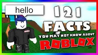 121 Facts You May Not Know About Roblox