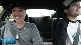 Procharged Mustang Dad Reaction!