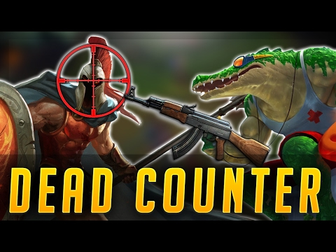 UH-OH I'VE BEEN COUNTER PICKED! RENEKTON VS PANTHEON! - Road to Challenger #46