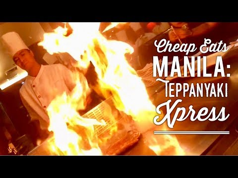 Cheap Eats Manila: Teppanyaki Xpress Fisher Mall Quezon City