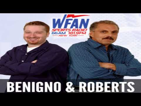 Joe Benigno & Evan Roberts calls-Chris Russo comments,Aaron Boone comments,Realmuto,Jets draft,more