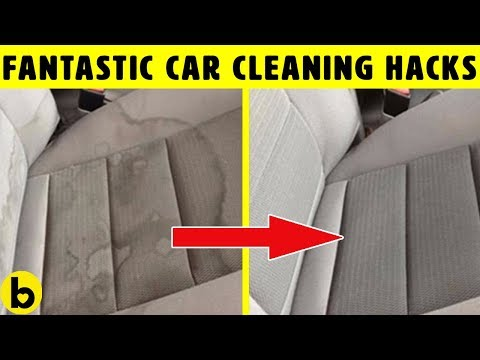 8 Car Cleaning Hacks That Show How To Clean Better & Faster